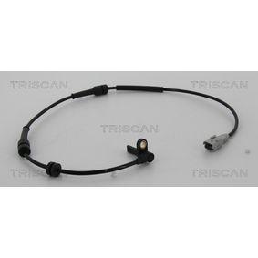 Sensor, Raddrehzahl TRISCAN Art.No - 8180 28128 OEM: 1493882080 für FIAT, PEUGEOT, CITROЁN, ALFA ROMEO, LANCIA kaufen