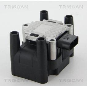 Zündspule TRISCAN Art.No - 8860 29047 OEM: 032905106E für VW, AUDI, SKODA, SEAT, ROVER kaufen