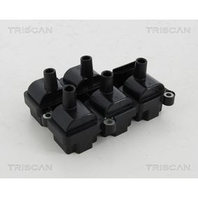 Zündspule TRISCAN Art.No - 8860 29055 OEM: 071905106 für VW, AUDI, SKODA, SEAT, LAMBORGHINI kaufen