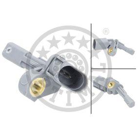 Sensor, Raddrehzahl OPTIMAL Art.No - 06-S474 OEM: 1K0927807A für VW, AUDI, SKODA, SEAT kaufen
