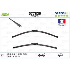 VALEO FIAT GRANDE PUNTO Sensor de desgaste de pastillas de frenos (577839)