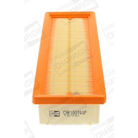 Filtro de aire (CAF100744P) fabricante CHAMPION para FIAT GRANDE PUNTO (199) año de fabricación 10/2005, 65 CV Tienda online