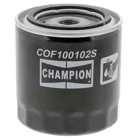 7984778 für OPEL, SKODA, CHEVROLET, DAEWOO, GMC, Ölfilter CHAMPION (COF100102S) Online-Shop