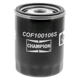 CHAMPION COF100106S Filtre à huile OEM - 4228326 ALFA ROMEO, FIAT, LANCIA, ALFAROME/FIAT/LANCI, ALLIS-CHALMERS à bon prix