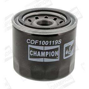 Filtro de aceite COF100119S CHAMPION