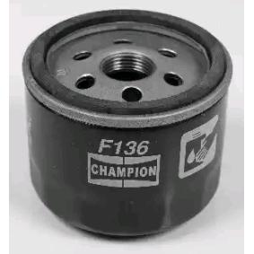 CLIO II (BB0/1/2_, CB0/1/2_) CHAMPION Sportluftfilter COF100136S