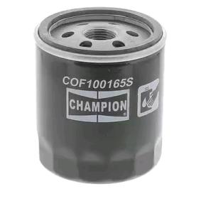 CHAMPION Oliefilter til køretøjer uden klimaanlæg Påskruet filter COF100165S ekspertviden