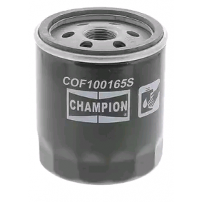 CHAMPION Oil Filter for vehicles without air conditioning Screw-on Filter COF100165S expert knowledge