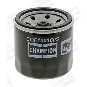CHAMPION CHEVROLET AVEO Filtro de aceite (COF100180S)