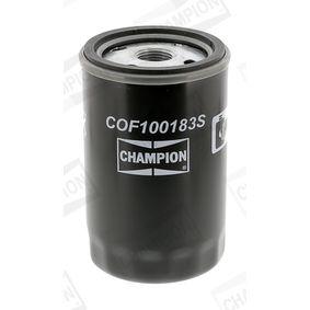 CHAMPION COF100183S Oil Filter OEM - 034115561A AUDI, SEAT, SKODA, VW, VAG, FIAT / LANCIA, SMART, AUDI (FAW), VW (FAW), VW (SVW), eicher, CUPRA cheaply
