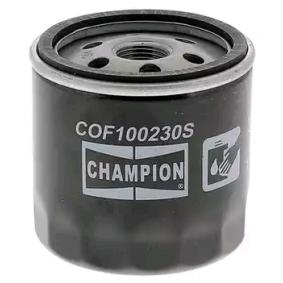 CHAMPION COF100230S Olajszűrő OEM - 030115561AD AUDI, SEAT, SKODA, VW, VAG, CUPRA jutányos