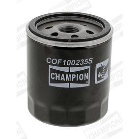 CHAMPION Filtre à huile 4434791 pour VOLKSWAGEN, FIAT, SEAT, DACIA, ALFA ROMEO acheter