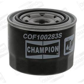Oil filter CHAMPION (COF100283S) for TOYOTA RAV 4 Prices