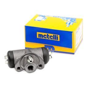 7696710 für FIAT, ALFA ROMEO, LANCIA, ABARTH, ZASTAVA, Radbremszylinder METELLI (04-0156) Online-Shop