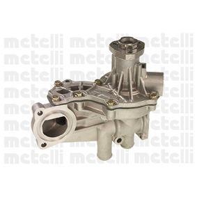 Wasserpumpe METELLI Art.No - 24-0579 OEM: 068121010A für VW, AUDI, FORD, SKODA, SEAT kaufen