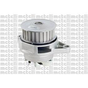 Wasserpumpe METELLI Art.No - 24-0603 OEM: 030121008D für VW, AUDI, SKODA, SEAT, PORSCHE kaufen