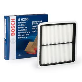 BOSCH Motorluftfilter F 026 400 206