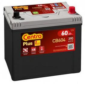Starterbatterie CENTRA Art.No - CB604 OEM: 3361077E61 für SUZUKI, SANTANA kaufen