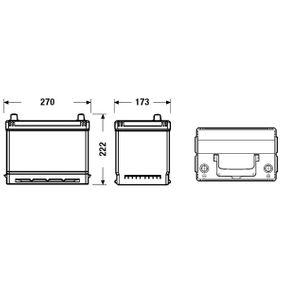 1060816 für FORD, Starterbatterie CENTRA (CB704) Online-Shop