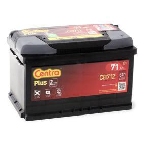 71751136 für FIAT, ALFA ROMEO, LANCIA, Starterbatterie CENTRA (CB712) Online-Shop