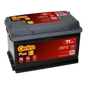 CENTRA CB712 Starterbatterie OEM - 71751136 ALFA ROMEO, FIAT, LANCIA, ALFAROME/FIAT/LANCI günstig