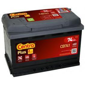Starterbatterie CENTRA Art.No - CB741 OEM: 28800YZZBB für OPEL, TOYOTA, LEXUS, ROVER, WIESMANN kaufen