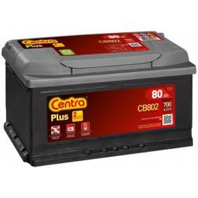 Starterbatterie CENTRA Art.No - CB802 OEM: 288000R060 für TOYOTA kaufen