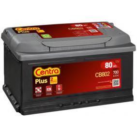 Starterbatterie CENTRA Art.No - CB802 OEM: 000915105AJ für VW, AUDI, SKODA, SEAT kaufen