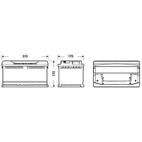 61218381747 für BMW, MINI, Starterbatterie CENTRA (CB802) Online-Shop