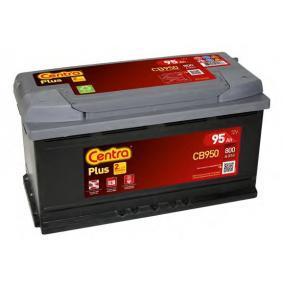 Starterbatterie CENTRA Art.No - CB950 OEM: 8E0915105K für VW, AUDI, SKODA, SEAT, HONDA kaufen