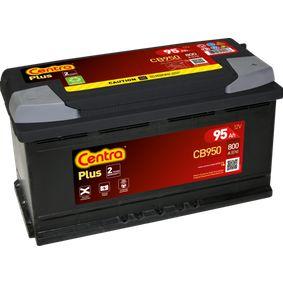 CENTRA Starterbatterie 8E0915105K für VW, AUDI, SKODA, SEAT, HONDA bestellen