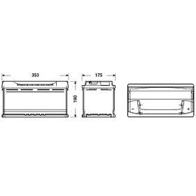 8E0915105K für VW, AUDI, SKODA, SEAT, HONDA, Starterbatterie CENTRA (CB950) Online-Shop