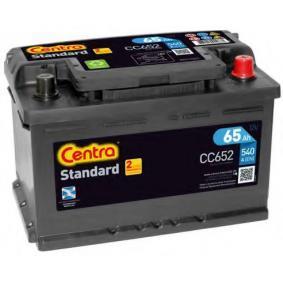 CENTRA Autobatterie CC652