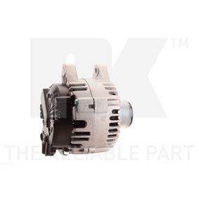 Generator NK Art.No - 4846240 OEM: 5702E2 für PEUGEOT, CITROЁN kaufen