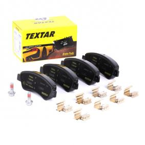 1613192280 for PEUGEOT, CITROЁN, DS, PIAGGIO, Brake Pad Set, disc brake TEXTAR (2395401) Online Shop