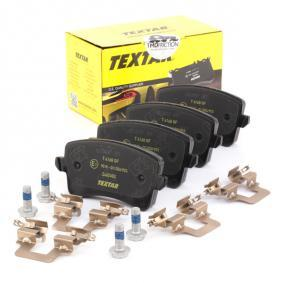 8K0698451C für VW, AUDI, SKODA, SEAT, Bremsbelagsatz, Scheibenbremse TEXTAR (2460602) Online-Shop