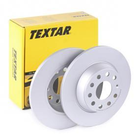 5Q0615601G за VW, AUDI, SKODA, SEAT, Спирачен диск TEXTAR (92140803) Онлайн магазин