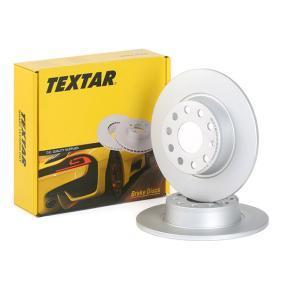 1K0615601AA für VW, AUDI, SKODA, SEAT, PORSCHE, Bremsscheibe TEXTAR (92224903) Online-Shop