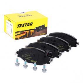 5Q0698151B pour VOLKSWAGEN, AUDI, SEAT, SKODA, Kit de plaquettes de frein, frein à disque TEXTAR (2568301) Boutique en ligne