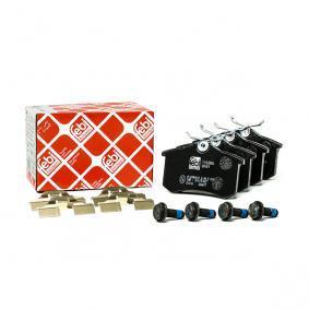 6X0698451A für VW, AUDI, FORD, SKODA, SEAT, Bremsbelagsatz, Scheibenbremse FEBI BILSTEIN (116026) Online-Shop