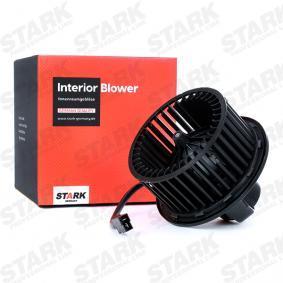 STARK Innenraumgebläse und Gebläsewiderstand SKIB-0310015 für AUDI COUPE 2.3 quattro 134 PS kaufen