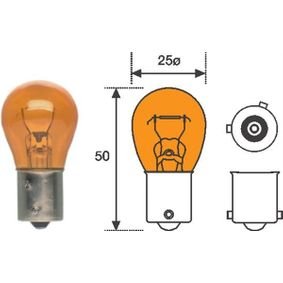 Popular Indicator bulb MAGNETI MARELLI 008507100000 for FIAT PANDA 1.2 60 HP