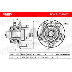 STARK Radlagersatz SKWB-0180152