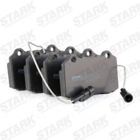 STARK Bremsbelagsatz, Scheibenbremse (SKBP-0011115) niedriger Preis