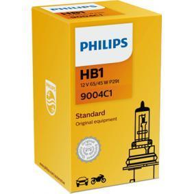 9004C1 Glühlampe, Fernscheinwerfer von PHILIPS Qualitäts Ersatzteile