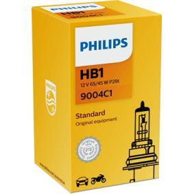 9004C1 Bulb, spotlight from PHILIPS quality parts