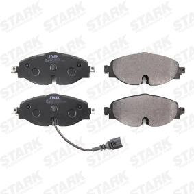 STARK SKBP-0011151 Kit de plaquettes de frein, frein à disque OEM - 5Q0698151B AUDI, SEAT, SKODA, VW, VAG, OEMparts à bon prix