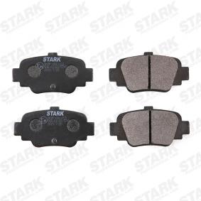 MICRA II (K11) STARK Σετ τακάκια, δισκόφρενα SKBP-0011122