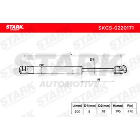 STARK Heckklappendämpfer / Gasfeder SKGS-0220171