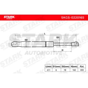 STARK Heckklappendämpfer / Gasfeder 51247060622 für BMW, MINI bestellen
